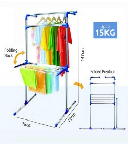 Portable Multifunctional Clothing & Drying Rack - 2631