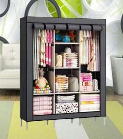 Storage Closet Organizer Wardrobe - 2504