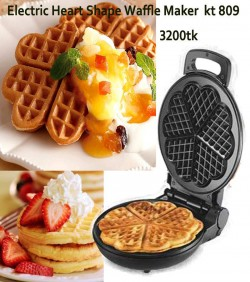 Electric Heart ShapeWaffle Maker kt809