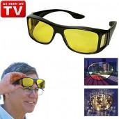Single HD Night Vision Wrap Around Glass