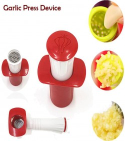 Homebiz Bd Garlic Presser - Red and White
