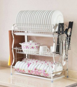 3 layer kitchen rack High quality