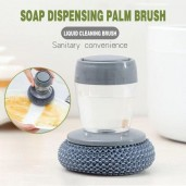 Soap Dispensing Cleaning Scrubber Dishwashing Brush
