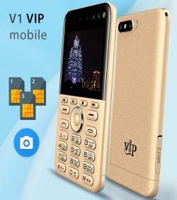 VIP V1 3-Sim 4 camera Card Phone
