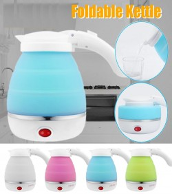 Foldable electric kettle for Traveling