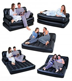 5 In 1 Double Inflatable Air Bed Sofa set AF-02