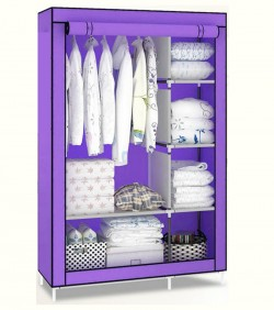 Wardrobe Cloth Storage Organizer