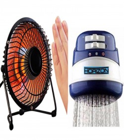 mini Room Heater and Hot water shawer -combo offer