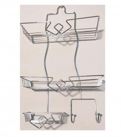 Shower Organizer silver