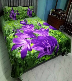 New Cotton King Size Bedsheet Set (penel)
