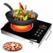 Electric Induction Cooker Heat Plate Smart Touch Hot Plate