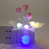 LED Sensor Mushroom Night Light