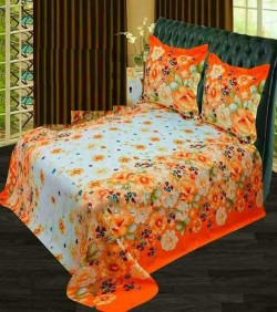 Double Size Cotton Bed Sheet Set without col cover