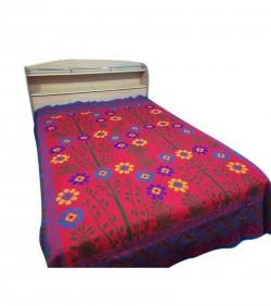 Hand Made Cotton Nakshi Katha - Multi Color