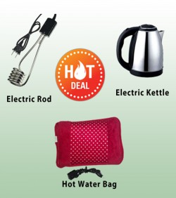 Hot water bag,heater and ketlle
