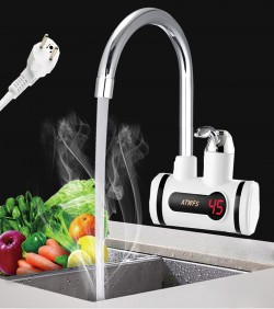 Digital Instant Hot Water Tap for wall