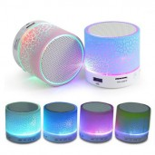 Portable  Mini  Wireless Bluetooth Speaker with colorful LED
