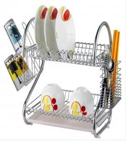 2-Layer Dish Drainer Rack