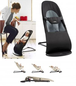 Relax Bouncer Baby Chair - Black
