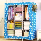 printed Wardrobe Storage Organizer for Clothes