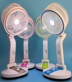 Multifunction Rechargeable Fan