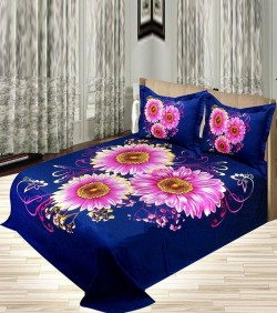 Cotton King Size Bedsheet Set