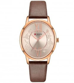 CURRAN Stylish Ladies Watch lather belt
