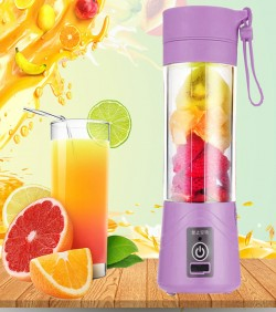 USB Rechargable Mini Portable Fruit & Vegetable Blender - Green