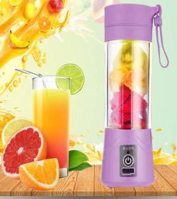 USB Rechargable Mini Portable Fruit & Vegetable Blender - Green