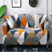 Magic Sofa Cover for 2 Seater Sofa with 2pc pillow cover