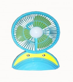 rechargeable high speed fan and light