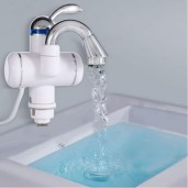 Exception Instant Water Heater Tap - White