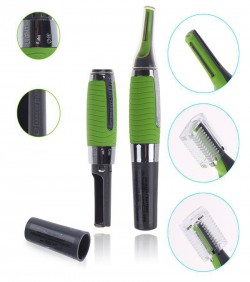Micro Touch Max Trimmer - Green and Silver