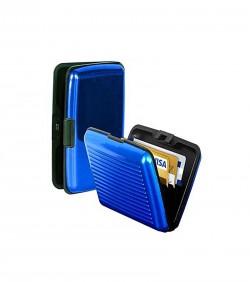 Credit Card Holder - Black and Blue