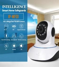Wireless 720P Pan Tilt Network Home CCTV IP Camera IR Night Vision WiFi Webcam - 2519