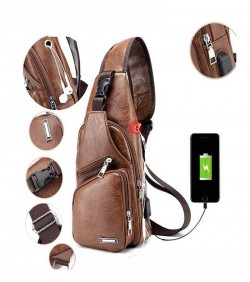 Hardier Unisex Crossbody Backpack